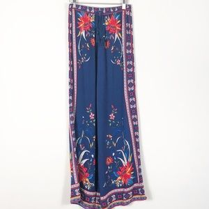 Flying Tomato Floral Palazzo Pants Large